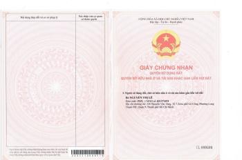 Bán nhà mặt tiền Nguyễn Văn Tăng, chính chủ