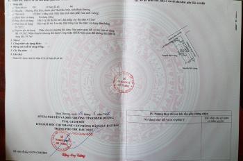 Cần bán gấp miếng đất để trang trải nợ nần ngân hàng phường Phú Hòa, TP Thủ Dầu Một