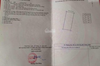 Bán nhà cấp 4 ở Bảo Sơn - Bá Hiến - Bình Xuyên - VP, giá chỉ 6xx triệu - LH 0334.688.883