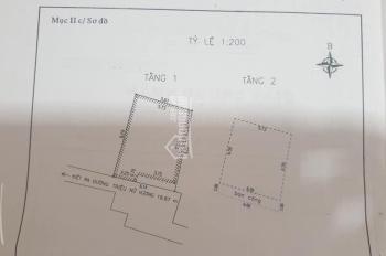 Bán nhà 2 tầng kiệt Triệu Nữ Vương cách đường 21m kiệt 2.5m nhà đẹp kiên cố, 3 tỷ bớt ít