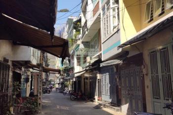 Bán nhà sát mặt tiền hẻm rộng rãi đường Nguyễn Khoái, P2, Q4. DT: 4 x 18m