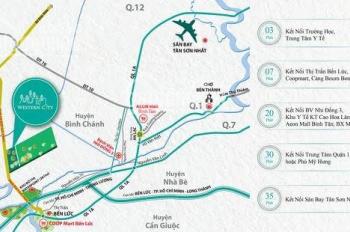 Duy nhất Western City - KDC Phú An Thạnh, cách TT Bến Lức chỉ 2km, SHR, công chứng ngay 0904863913