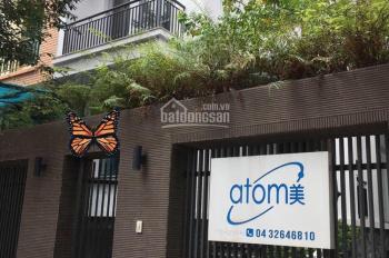 Cho thuê biệt thự mặt phố Trung Văn, Nam Từ Liêm. DT 130m2 x 4 tầng, MT 12m, LH 0399909083
