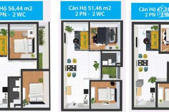 Bán căn hộ Topaz home 58m2, hướng Đông, hỗ trợ vay 70%, LH: 0988 866 131