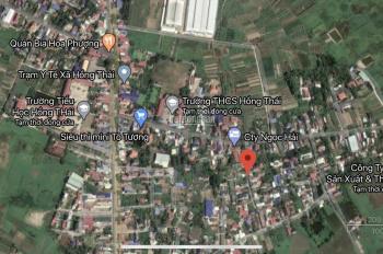 Chính chủ bán lô đất 100m2 gần nhà văn hóa Kiều Đông, Hồng Thái, An Dương, Hải Phòng