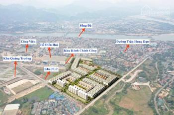 Đất nền trung tâm TP Hòa Bình sổ đỏ ngay thanh khoản cao chỉ từ 17tr/m2 cạnh khu hành chính công