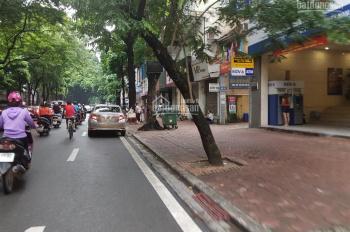Bán nhà mặt phố Linh Lang, sổ đỏ 160m2/200m2, hiện tại đã có nhà 4 tầng, phố kinh doanh sầm uất
