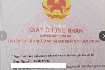 Bán Đất tại thôn Ngọc Trì, xã Kim Hoa, huyện Mê Linh