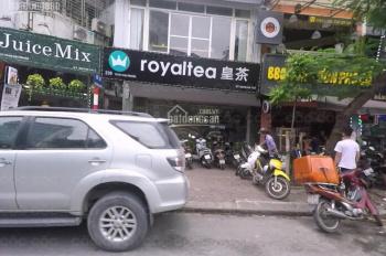 Nhà đẹp phố Trần Đại Nghĩa, DT T1=95m2, T2=105m, MT 16m, giá thuê 122,436 triệu/tháng