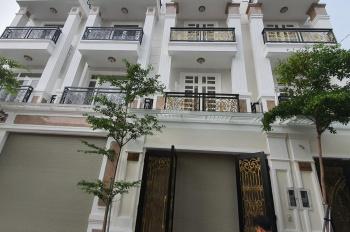 Nhà mới xây kế bên khu dân cư Vạn Phúc có lối thông nội bộ 3 lầu 4x15m