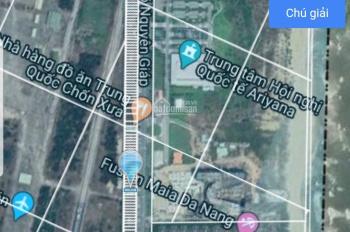 Bán 155m2 đất vị trí đắc địa đường Võ Nguyên Giáp đối diện Condotel Aryjana. Giá rẻ LH: 0888211115