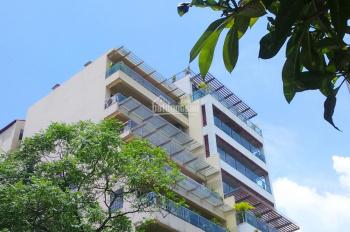 Bán tòa nhà đẹp DT 255m2, xây 8 tầng, vị trí mặt Hồ Tây, mặt phố đường Xuân Diệu, Tây Hồ, Hà Nội