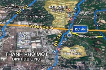 Bán đất ngay trung tâm gần chợ Phú Chánh 0965171196