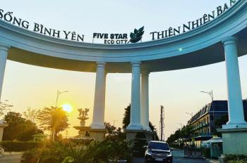 Bán đất nền trong khu 5 Sao ngay chợ BÌNH CHÁNH ( Five Star Eco City) Cần Giuộc, Long An.