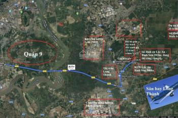 Chính chủ cần bán gấp 2 lô đất gần tái định cư D2D, KCN Lộc An - Bình Sơn, SHR giá chỉ 13tr/m2