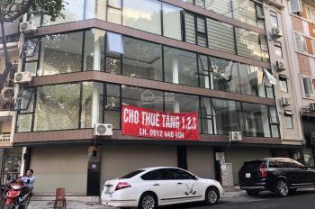 Cho thuê tầng 1,2,3 nhà mặt phố Tô Hiến Thành, ngay giữa ngã tư với Bùi Thị Xuân