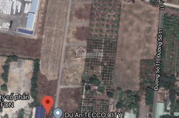 Bán lô đất mặt tiền đường 81, gần ngã ba Sáu Dẫu, DT: 13000m2