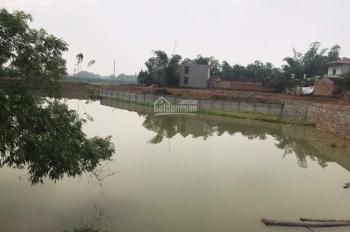 Bán lô đất 3 mặt tiền mặt hồ Hạ Bằng full thổ cư, cách Vsmart 400m đường ô tô tránh, LH 0962.141319