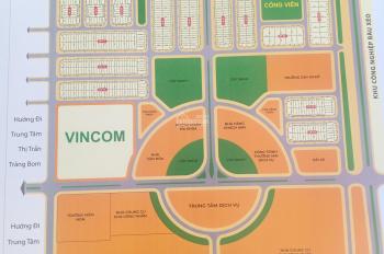 Chính chủ cần bán gấp lô đất, sổ riêng, thổ cư, trong khu đô thị Bàu Xéo, thị trấn Trảng Bom