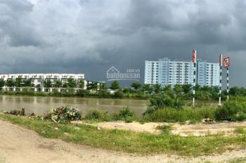 Bán đất góc 2 mặt tiền sông hẻm 48 đường Số 1, P. Long Trường, Q9, DT: 500m2, góc 2 mặt tiền sông