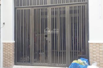 Bán nhà mới 1 lầu mặt tiền đường số 9, P.4, Q.8