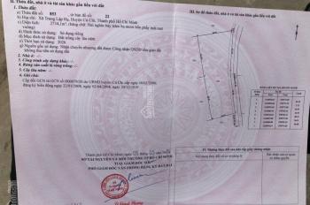Bán đất trồng cây xã Trung Lập Hạ, 90x30m, giá 4tỷ7