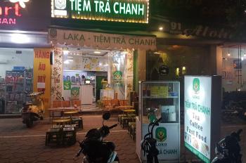 Sang nhượng Tiệm trà chanh Laka 89 Kim Đồng, Hoàng Mai, Hà Nội.