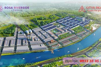Biệt thự view sông Cổ Cò, Hội An - 17,6tr/m2 - rosa riverside complex - LH: 0933353535