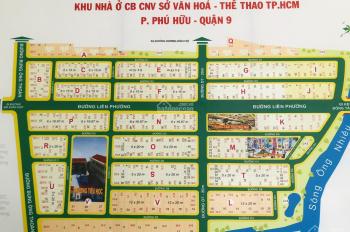 Bán đất nền KDC Sở Văn Hoá Thông Tin, Q9, LH: 0905004399