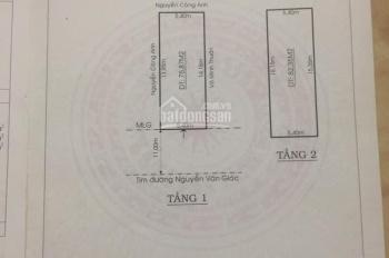 Cần bán gấp nhà mặt phố Nguyễn Trãi kéo dài, TP Mỹ Tho, chỉ 7,5 tỷ
