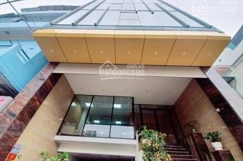 Bán tòa nhà văn phòng mặt phố Xã Đàn, Đống Đa 9Tx150m2, MT 9m lô góc giá 55 tỷ