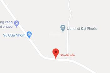 Bán đất nền chính chủ, mặt tiền tỉnh lộ 915b, gần Ubnd Xã Đại Phước, Khu Cn Cổ Chiên giá 1,6 tỷ