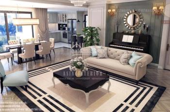 Bán căn hộ 4 phòng ngủ view sông Hồng, vip nhất chung cư Amber 622 Minh Khai, có nội thất