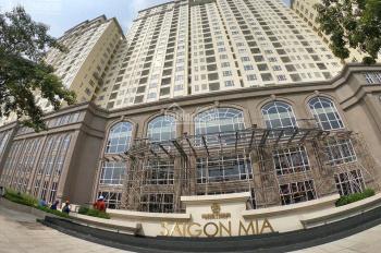 Cho thuê CH Sài Gòn Mia 2PN, DT 78m2 full nội thất giá thuê 16triệu/tháng. LH: 0901499880