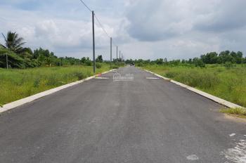 Bán đất giá rẻ góc 2 mặt tiền đường, 100m2, 1,3 tỷ, sổ hồng riêng ngân hàng cho vay 50%