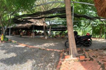 Bán nhà + quán cà phê bờ kênh mát mẻ Tân Vĩnh Hiệp