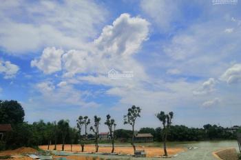 Bán 126.8m2 đất 2 mặt tiền view hồ Hạ Bằng cách nhà máy Vinsmart của vingroup 300m LH 0962.14.13.19