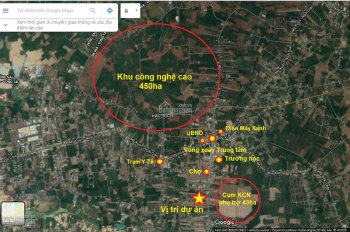 Bán đất nền tại vòng xoay Hắc Dịch, giá siêu rẻ mua là lãi ngay, gần KCN Cao 450ha, ngay khu dân cư