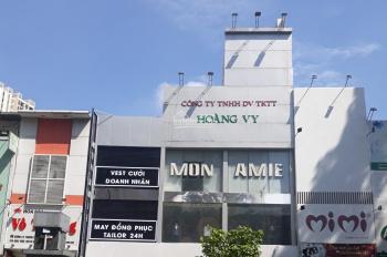 Cho thuê nhà 2 mặt tiền Sư Vạn Hạnh 8x25m, 4 lầu, P12 Q10, ngay Vạn Hạnh Mall, trường Huflit, 115