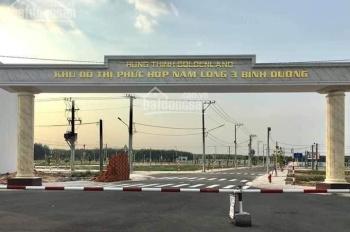 Bán đất dự án Hoàng Hưng Thịnh Golden Land giá chỉ 599tr/ 100m