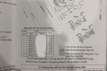 Bán nhà 4.2*20m 2 lầu mặt tiền Trường Chinh, Q12; rẻ 12 tỷ