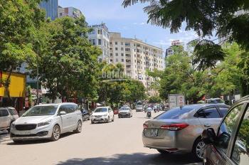 Vị trí vàng Cầu Giấy - bán lô đất mặt phố Duy Tân 130m2, MT gần 8m, vỉa hè KD sầm uất nhỉnh 37 tỷ