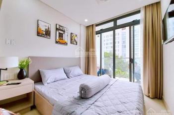 Cho Thuê căn hộ Trung Tâm Quận 1 Full Nội Thất 1 phòng ngủ Ban công ngay phố Bùi Viện