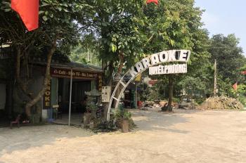 Bán đất mặt đường QL 6, trước mặt sân golf Lâm Sơn kinh doanh sầm uất