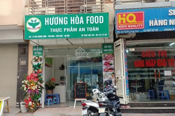 Cho thuê toàn bộ cửa hàng thực phẩm sạch Hương Hoà Food - Cầu Giấy