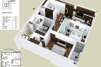 Chính chủ bán căn hộ 86m2 tòa HPC Landmark 105, mặt đường Tố Hữu, ban công Đông Nam tầng 16