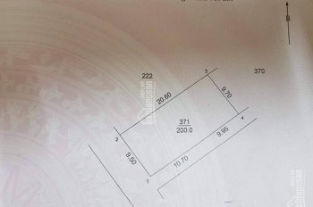 Cần bán 200m2 đất mặt đường chính khu công nghệ cao Hòa Lạc. Giá 8,5 triệu/m2, tiện kinh doanh