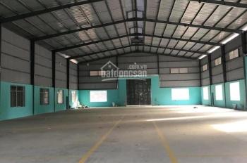 Cho thuê nhà xưởng 1200m2 gần vòng xoay An Phú, Thuận An, Bình Dương 60 triệu