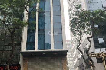 Cần cho thuê gấp nhà mặt phố Ngụy Như Kon Tum, 75m2*7 tầng, mặt tiền cực rộng 6,5m, 75tr/tháng