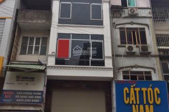Cho thuê nhà mặt phố Phố Vọng: 25m2 x 4 tầng, mặt tiền 3m, nhà mới, ốp kính, thông sàn. 0974557067